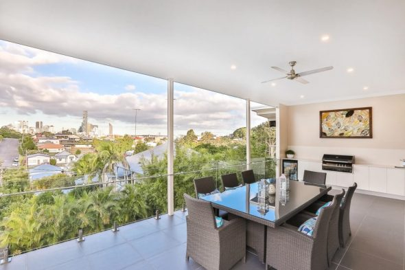 finesse projects brisbane builders Outdoor entertainment area