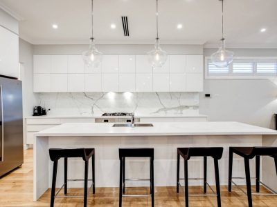 Large kitchen finesse projects brisbane builders