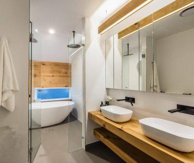finesse projects Bathroom brisbane twin sinks