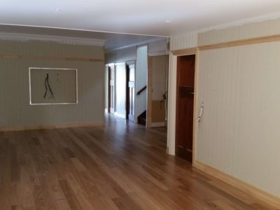 Timber floors in renovation