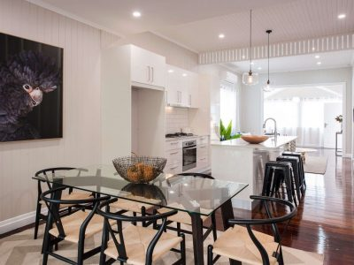 Open plan living finesse projects brisbane builders