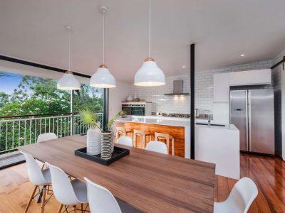 finesse projects open plan living kitchen brisbane